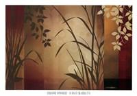 Flaxen Silhouette Fine Art Print