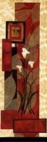 """Floral Fantasy I by Rosa Solano - 12"""" x 36"""""""