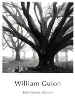 "Oak Grove, Winter by William Guion - 12"" x 16"", FulcrumGallery.com brand"
