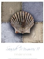 Seaside Memories II Framed Print