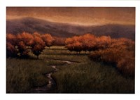 "Morning Fescue by Simon Winegar - 39"" x 28"""