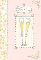 Anniversary Champagne Greeting Card
