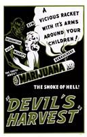 Devil S Harvest Fine Art Print