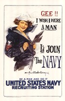 I'd Join the Navy Fine Art Print