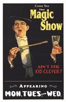 """Magic Show by Angela Ferrante - 11"""" x 17"""""""
