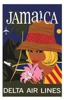 "Jamaictravel Poster by Angela Ferrante - 11"" x 17"""