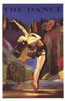 "Dance The by Angela Ferrante - 11"" x 17"", FulcrumGallery.com brand"