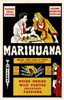 "Marihuana by Angela Ferrante - 11"" x 17"""