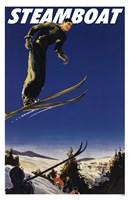 Steamboat Ski Poster Fine Art Print