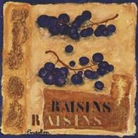 "Raisins by Francoise Persillon - 12"" x 12"""