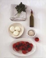 """Salad Caprese by Angela Ferrante - 10"""" x 12"""""""