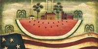 Watermelon Farm Fine Art Print