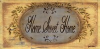 Home Sweet Framed Print