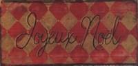 """Joyeux Noel by Grace Pullen - 7"""" x 4"""""""