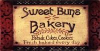 """Sweet Buns by Grace Pullen - 7"""" x 4"""""""