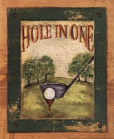 Hole in One Fine Art Print