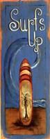 """Surfs Up by Grace Pullen - 6"""" x 17"""""""