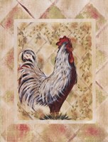 """Rooster I by Grace Pullen - 12"""" x 16"""""""