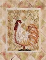 """Rooster II by Grace Pullen - 12"""" x 16"""""""