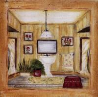 """Poppy Bath II by Grace Pullen - 8"""" x 8"""""""