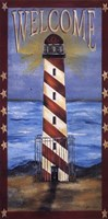 Welcome - Lighthouse Fine Art Print