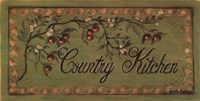 Country Kitchen Fine Art Print