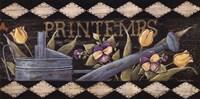 """Printemps by Jo Moulton - 20"""" x 10"""""""