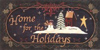 Home for Holidays Fine Art Print
