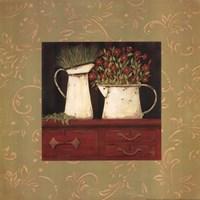 """Red Cupboard by Jo Moulton - 12"""" x 12"""""""