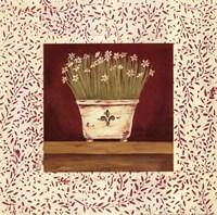 """Petit Fleur III by Jo Moulton - 12"""" x 12"""""""