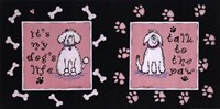 "Dog's Life by Jo Moulton - 20"" x 10"", FulcrumGallery.com brand"