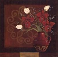 """Tranquil Bouquet II by Jo Moulton - 12"""" x 12"""""""