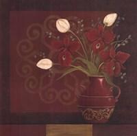 """Tranquil Bouquet II by Jo Moulton - 24"""" x 24"""""""