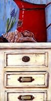 "Cape Red I by Jo Moulton - 8"" x 16"""