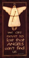"We Are Never So Lost by Jo Moulton - 8"" x 16"""