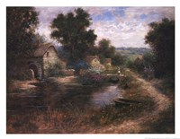 Watermill Pond Fine Art Print