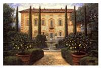 """Italian Villa by Jon McNaughton - 38"""" x 26"""""""