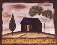 """Liberty by Kim Klassen - 10"""" x 8"""""""