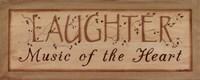 "Laughter by Kim Klassen - 20"" x 8"""