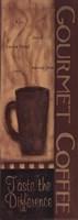 "Gourmet Coffee Panel by Kim Klassen - 6"" x 17"""