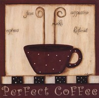 Perfect Coffee Framed Print