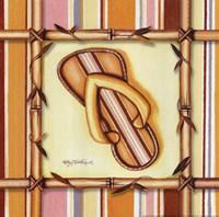 Bamboo Flip Flop IV Fine Art Print