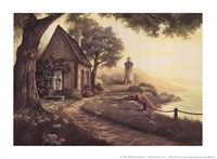 """Dawn's Early Light by Michael Humphries - 8"""" x 6"""", FulcrumGallery.com brand"""