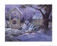 Season's Greeters Fine Art Print