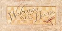"Welcome Home by Stephanie Marrott - 7"" x 4"" - $9.99"