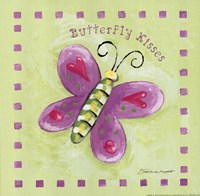"Butterfly Kisses by Stephanie Marrott - 8"" x 8"""