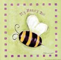 "My Honey Bee by Stephanie Marrott - 8"" x 8"""