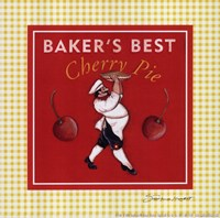 "Baker by Stephanie Marrott - 8"" x 8"""