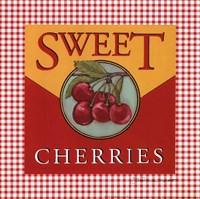 "Sweet Cherries by Stephanie Marrott - 8"" x 8"" - $9.49"