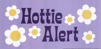 Hottie Alert Framed Print